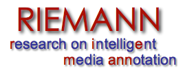 the RIEMANN Research Project - Research on Intelligent Media Annotation